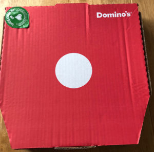 Domino's Texas BBQ Pizza Review, Texas BBQ pizza Domino's Pizza's