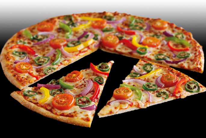 Veggie Hot One Pizza from Pizza Hut, Veggie Hot One Pizza review