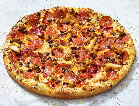 The Meaty One Pizza Hut Pizza Review