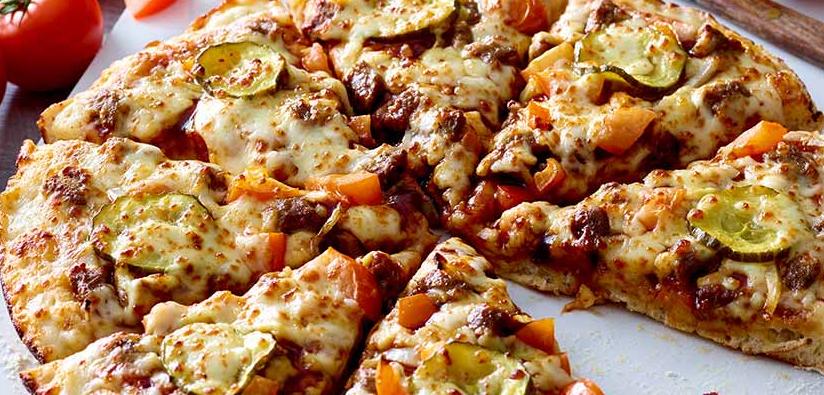 BBQ Cheeseburger Pizza from Papa John's, BBQ Cheeseburger Pizza Review