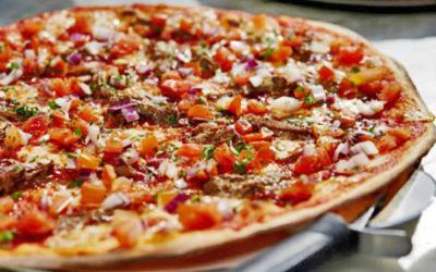Barbacoa Pizza from Pizza Express
