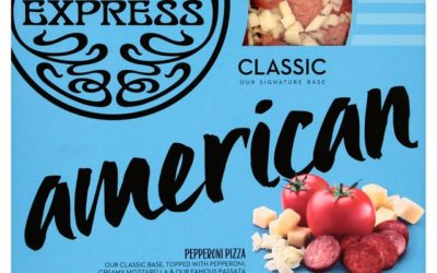 American Supermarket Pizza from Pizza Express