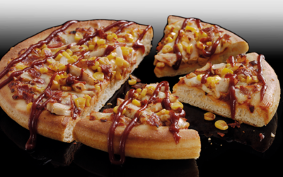 BBQ Americano Pizza from Pizza Hut