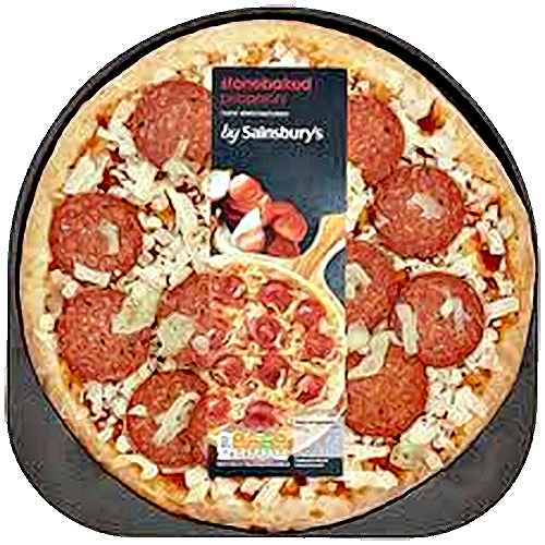 Stonebaked Pepperoni Pizza from Sainsbury's Review