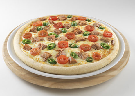 Tuna Thunder Pizza from Pizza GoGo Review