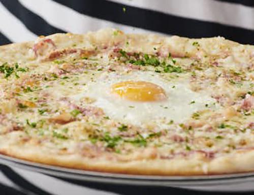 Carbonara Pizza Review, Carbonara Pizza from Pizza Express