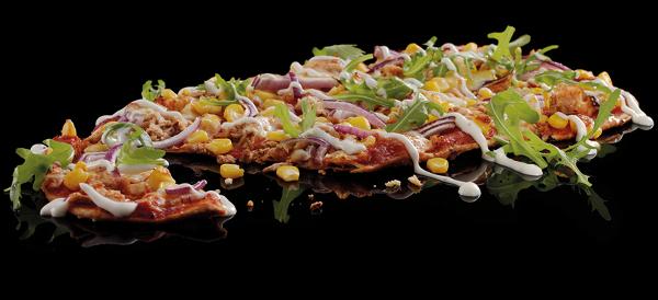 Tuna & Sweetcorn Flat Bread Pizza Review from Pizza Hut