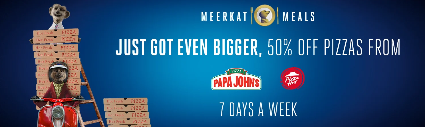 Compare The Meerkat Pizza Meals Deals
