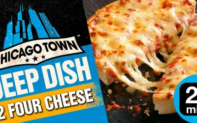 Chicago Town Deep Dish Four Cheese Pizza from Sainsbury's