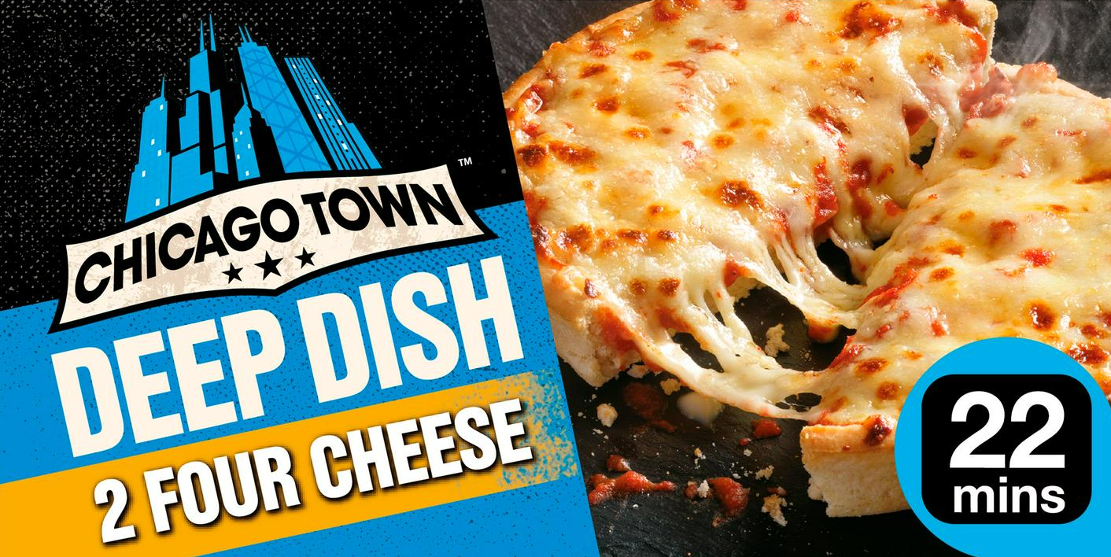 Chicago Town Deep Dish Four Cheese Pizza from Sainsbury's Review