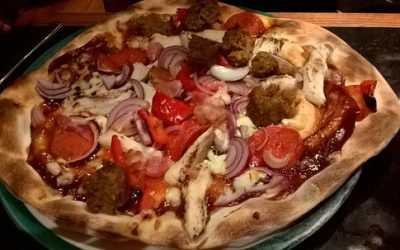 New York Giant Pizza from Frankie & Benny's