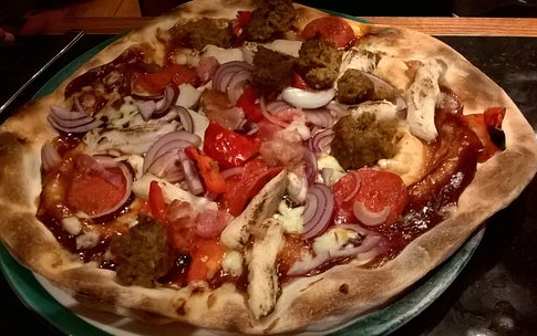 New York Giant Pizza from Frankie & Benny's Review