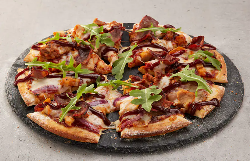 BBQ Meats Deluxe Pizza from Domino's, BBQ Meats Deluxe Review