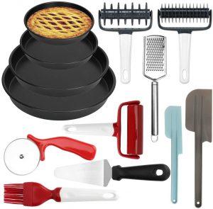 Brynnl Pizza Making Tool Kit, 3-Piece Pizza Utensils Set. Pizza Tool Kit