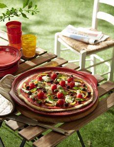 Emile Henry Pizza Stone Review, Large Pizza Stone, Ceramic, Burgundy,