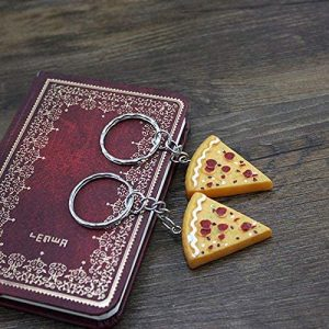 Fast-Shop 5pcs Pizza Keyrings, Pizza Keychains, Pizza Keyrings Review