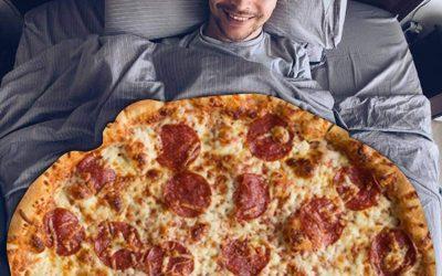 HahaGo Pizza Blanket