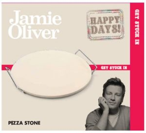 Jamie Oliver Pizza Stone and Serving Rack. Keep It Simple Pizza Stone.
