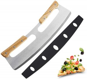 Olymajy Pizza Knife Cutter, Pizza Slicer, Stainless Steel Slicer Knife.
