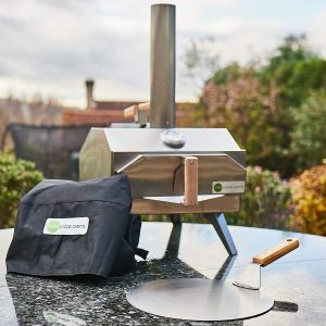 Outi Portable Pizza Oven, Stainless steel portable multi fuel pizza oven