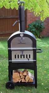 Radar Pizza Wood Fired Pizza Oven, Coal Fired Pizza Oven with Stone