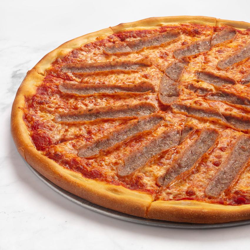 Sal's Authentic NY Pizza Free Range Italian Sausage Pizza Pie