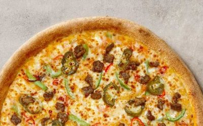 The Mexican Pizza from Papa John's