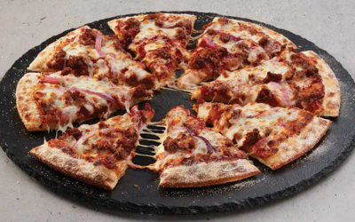 Beef & Onion Pizza from Domino's