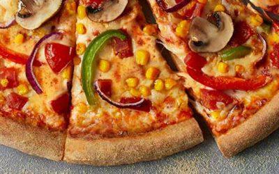 Vegi Supreme Pizza from Domino's